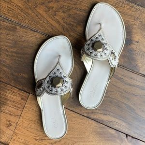 Cole Haan Cream Leather Sandals (8.5)